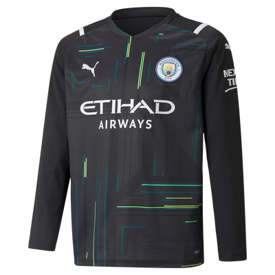 Kids Manchester City Goalkeeper Shirt 21/22