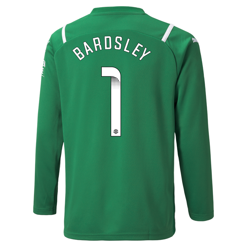 MCFC MW KIDS GK SL SHIRT LS-BARDSLEY-WSL-WSL - green