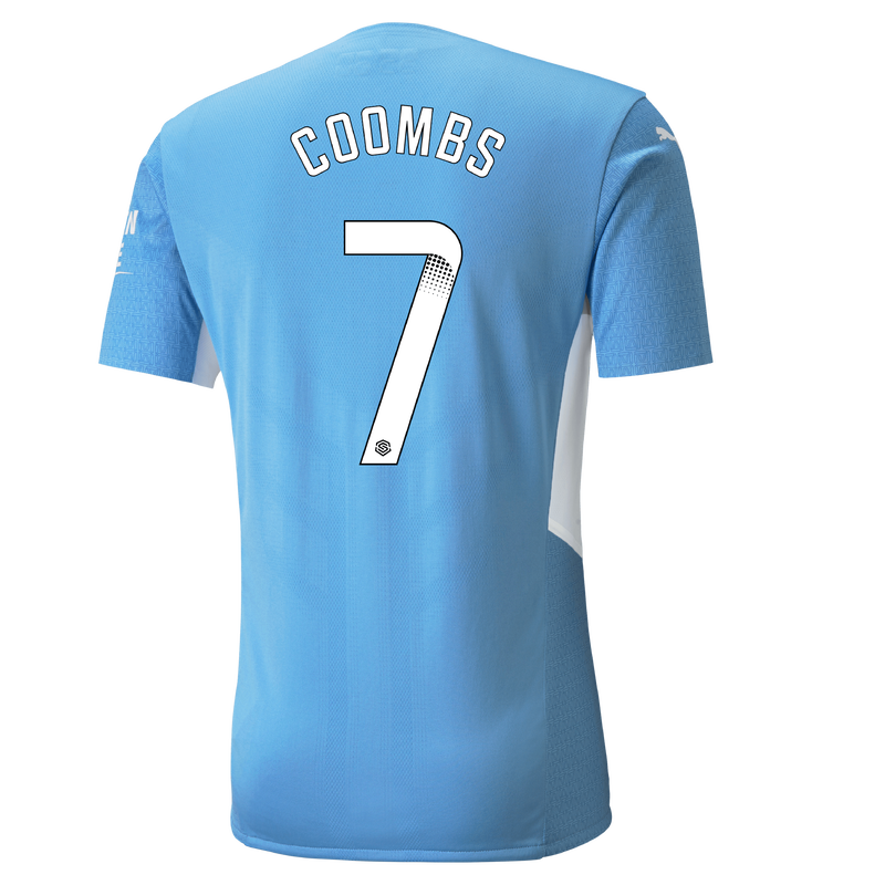 MCFC MW MENS AUTHENTIC HOME SL SHIRT SS-COOMBS-WSL-WSL-TRUE -