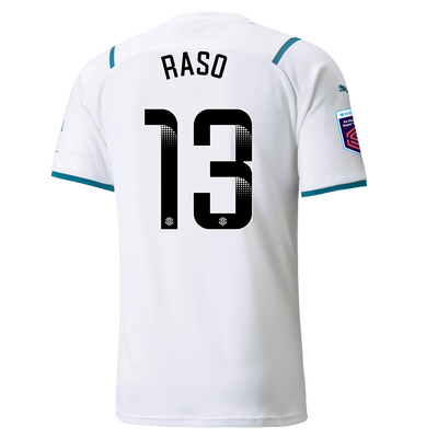 [Pre-order] Manchester City Away Shirt 21/22 with Hayley Raso printing