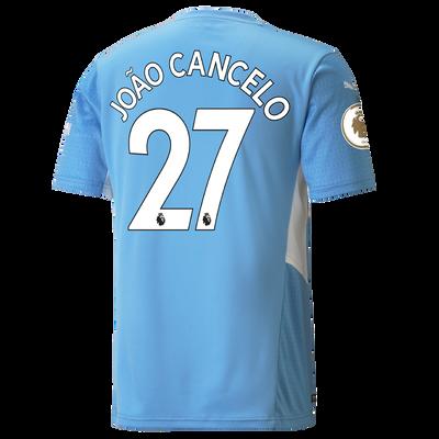 Manchester City Home Shirt 21/22 with João Cancelo printing