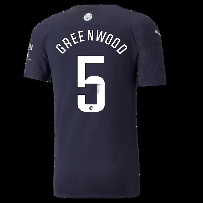 MCFC MW 3RD AUTHENTIC SHIRT SS-GREENWOOD-WSL-WSL-TRUE -