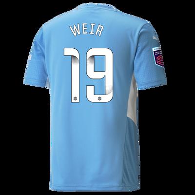 Manchester City Home Shirt 21/22 with Caroline Weir printing