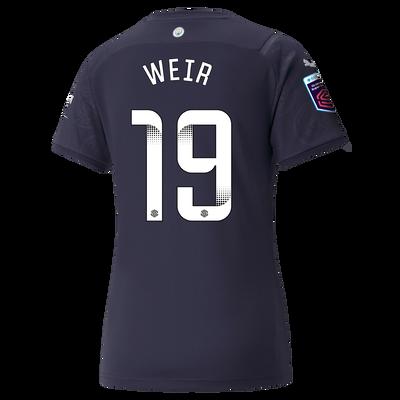 Womens Manchester City 3rd Shirt 21/22 with Caroline Weir printing