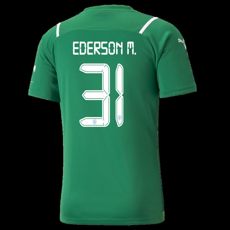 MCFC MW MENS GK REPLICA SL SHIRT SS-EDERSON M-EPL-NO - green