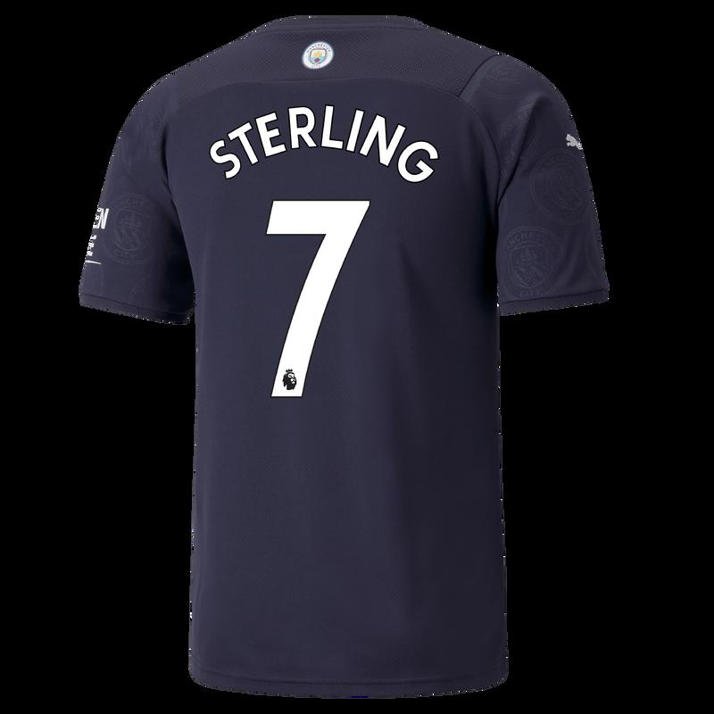 MCFC MW MENS 3RD SL SHIRT SS-STERLING-EPL-NO-TRUE -
