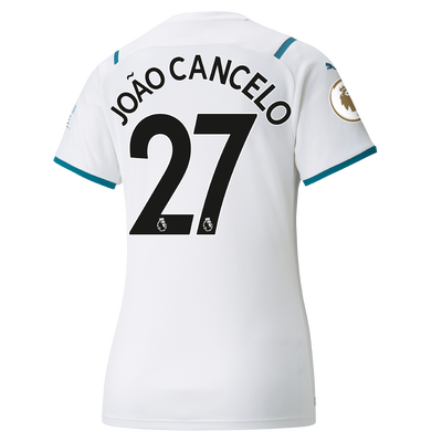 Womens Manchester City Away Shirt 21/22 with João Cancelo printing