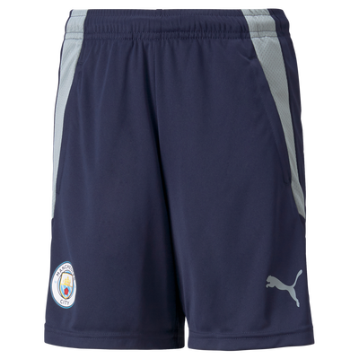 Kids Manchester City Training Shorts with pockets