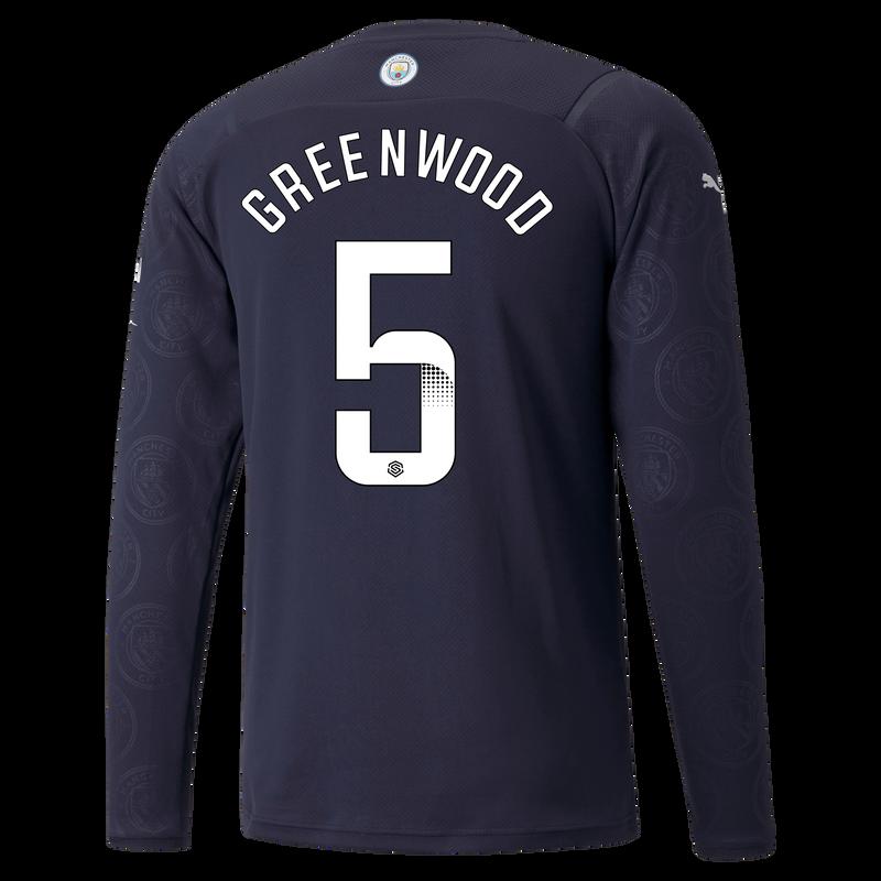 MCFC MW MENS 3RD SL SHIRT LS-GREENWOOD-WSL-WSL-TRUE -
