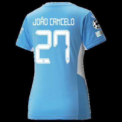 Womens Manchester City Home Shirt 21/22 with João Cancelo printing