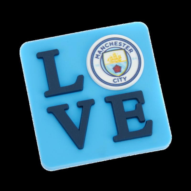 MCFC FW LOVE MAGNET F - light blue