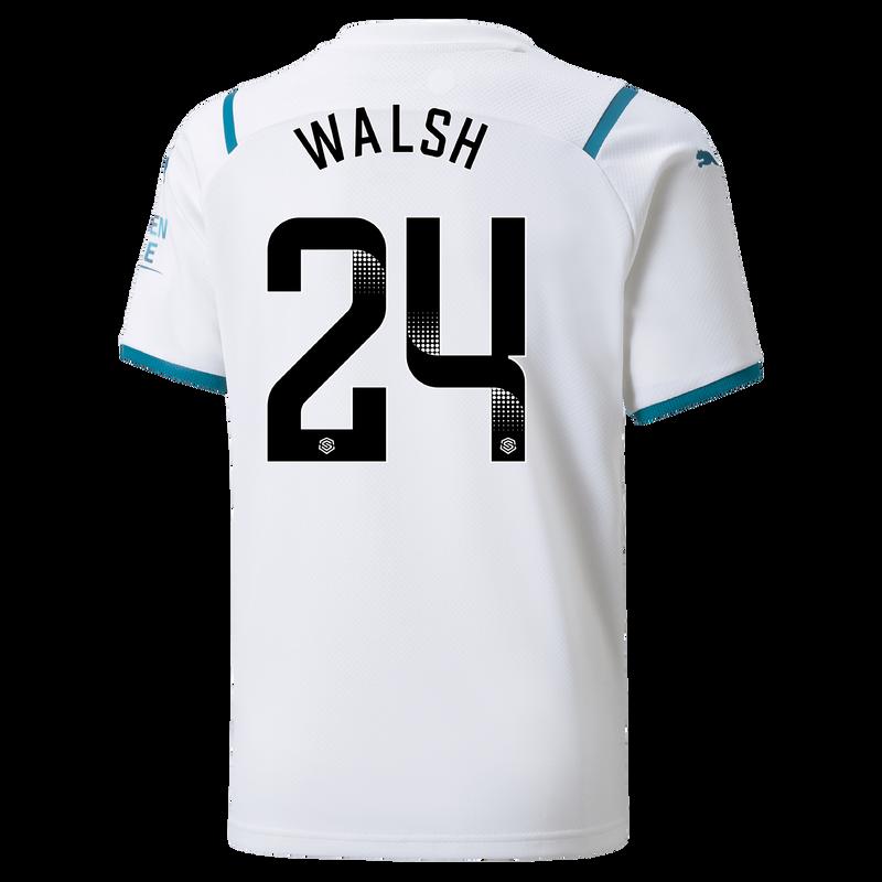 MCFC MW KIDS AWAY SL SHIRT SS-WALSH-WSL-WSL-TRUE -