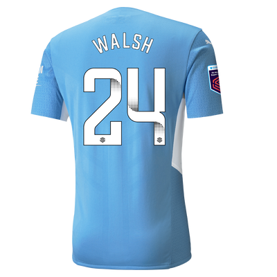 Manchester City Authentic Home Shirt 21/22 with Keira Walsh printing