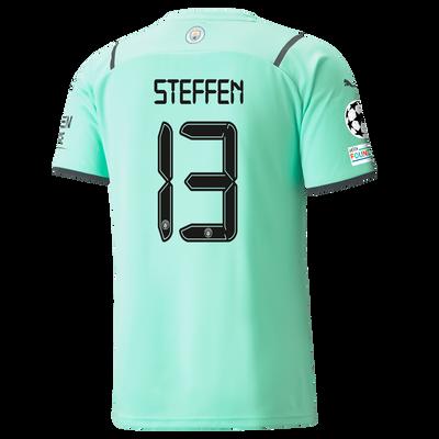 Manchester City Goalkeeper Shirt 21/22 with Zack Steffen printing