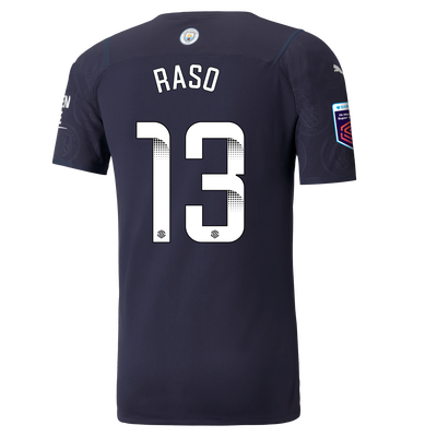 [Pre-order] Manchester City Authentic 3rd Shirt 21/22 with Hayley Raso printing