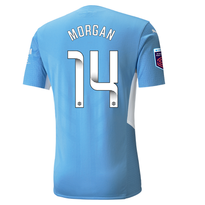 Manchester City Authentic Home Shirt 21/22 with Esme Morgan printing