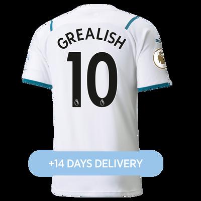 Manchester City Away Shirt 21/22 with Jack Grealish printing