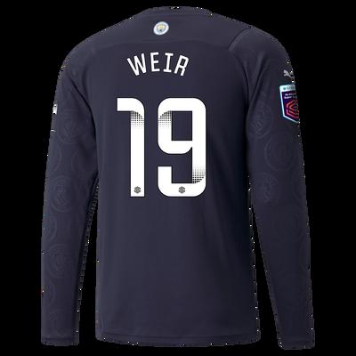 Manchester City 3rd Shirt Long Sleeve 21/22 with Caroline Weir printing