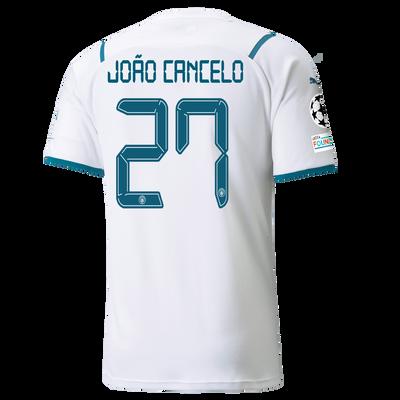 Manchester City Away Shirt 21/22 with João Cancelo printing