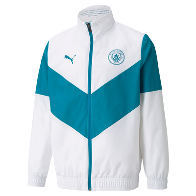 Kids Manchester City Pre-Match Jacket