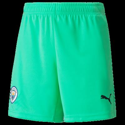 Kids Manchester City Football Shorts 21/22