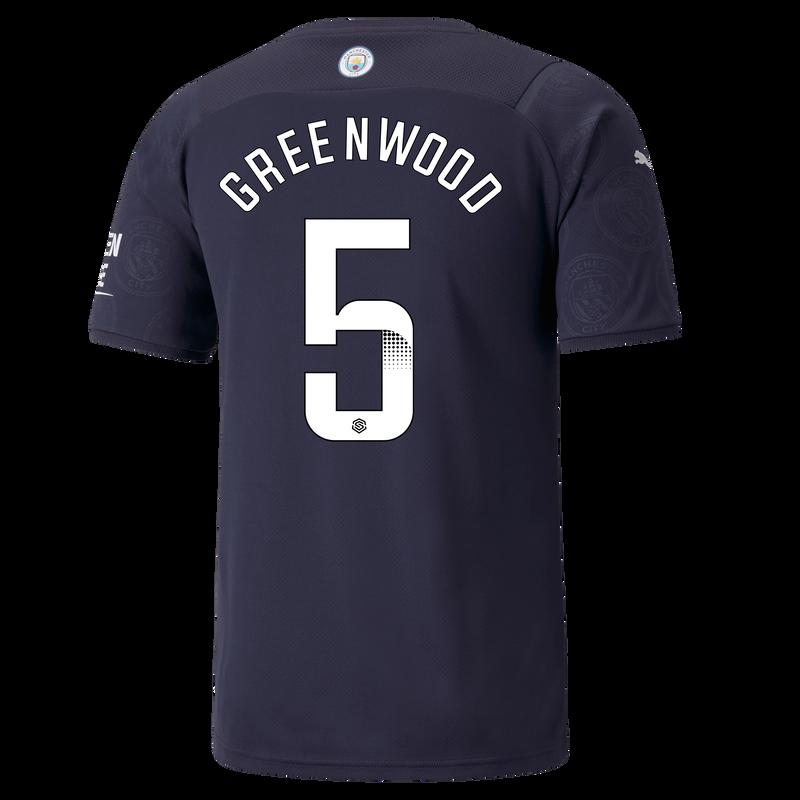 MCFC MW MENS 3RD SL SHIRT SS-GREENWOOD-WSL-WSL-TRUE -