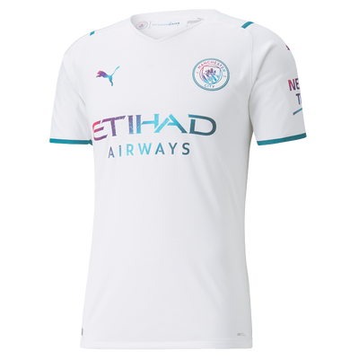 Manchester City Authentic Away Shirt 21/22