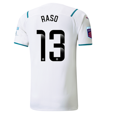 [Pre-order] Manchester City Authentic Away Shirt 21/22 with Hayley Raso printing