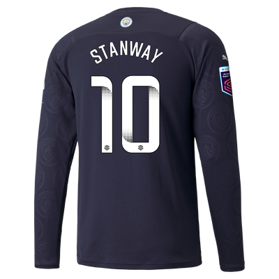 Manchester City 3rd Shirt Long Sleeve 21/22 with Georgia Stanway printing