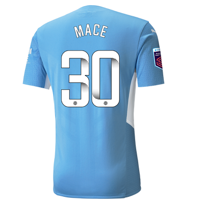 Manchester City Authentic Home Shirt 21/22 with Ruby Mace printing