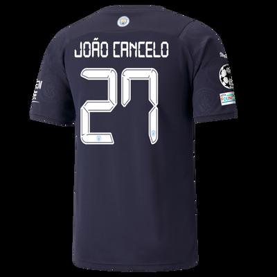 Manchester City 3rd Shirt 21/22 with João Cancelo printing
