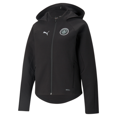 Womens Manchester City Casuals Hooded Jacket