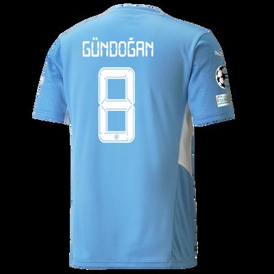 Manchester City Home Shirt 21/22 with İlkay Gündoğan printing