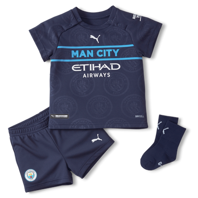 Manchester City 3rd Baby-Kit 21/22