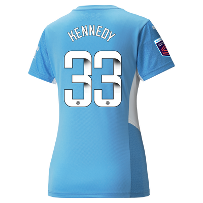 [Pre-order] Womens Manchester City Home Shirt 21/22 with Alanna Kennedy printing