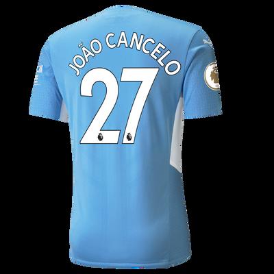 Manchester City Home Authentic Shirt 21/22 with João Cancelo printing