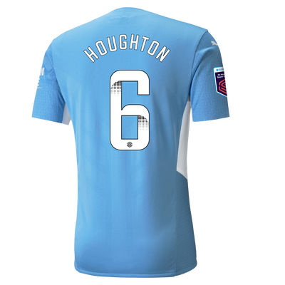 Manchester City Authentic Home Shirt 21/22 with Steph Houghton printing