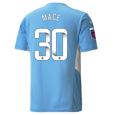 Manchester City Home Shirt 21/22 with Ruby Mace printing