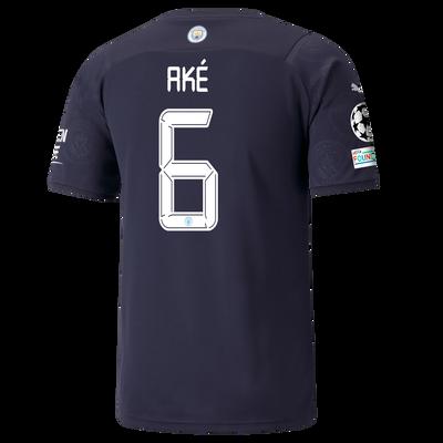 Manchester City 3rd Shirt 21/22 with Nathan Aké printing