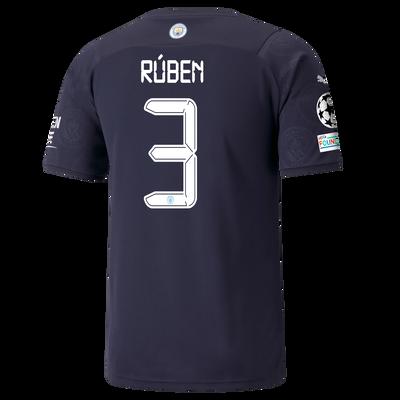 Manchester City 3rd Shirt 21/22 with Rúben Dias printing