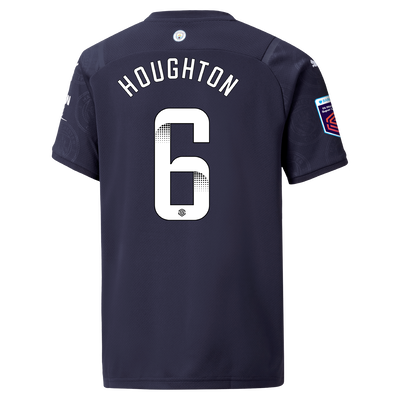 Kids Manchester City 3rd Shirt 21/22 with Steph Houghton printing