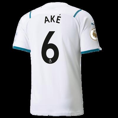 Manchester City Away Shirt 21/22 with Nathan Aké printing