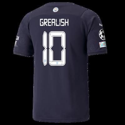 Manchester City 3rd Shirt 21/22 with Jack Grealish printing