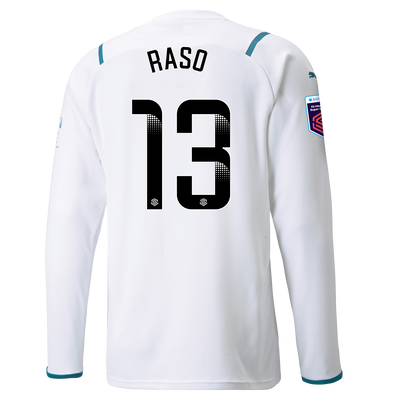 [Pre-order] Manchester City Away Shirt Long Sleeve 21/22 with Hayley Raso printing