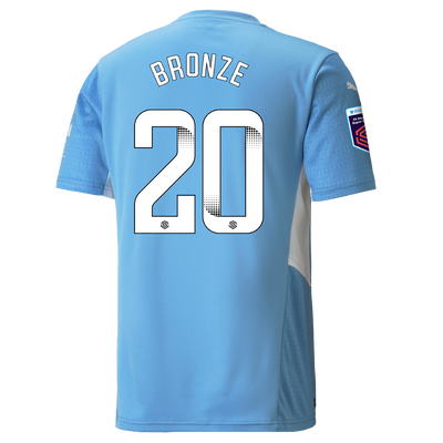 Manchester City Home Shirt 21/22 with Lucy Bronze printing