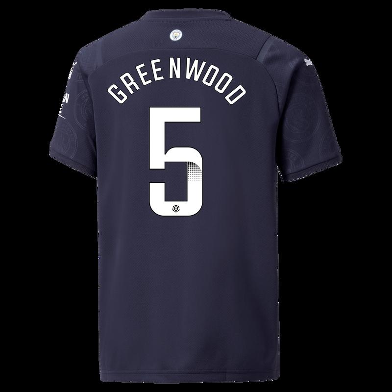 MCFC MW KIDS 3RD SL SHIRT SS-GREENWOOD-WSL-WSL-TRUE -