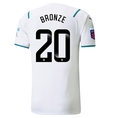 Manchester City Authentic Away Shirt 21/22 with Lucy Bronze printing