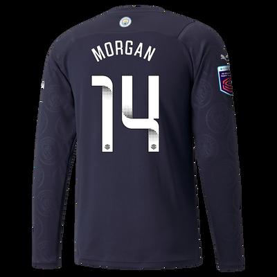Manchester City 3rd Shirt Long Sleeve 21/22 with Esme Morgan printing