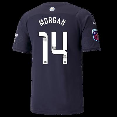 Manchester City 3rd Shirt 21/22 with Esme Morgan printing