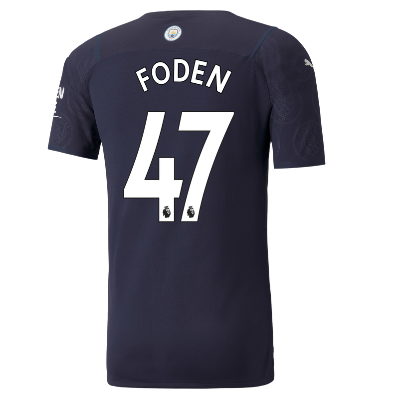 MCFC MW 3RD AUTHENTIC SHIRT SS-FODEN-EPL-NO-TRUE -